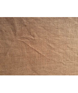 North Beach Brown 32ct linen 36x27 cross stitch fabric Dames of the Needle - $54.00