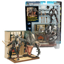 Year 1997 McFarlane Toys THE FINAL BATTLE Playset with Spawn and Violato... - $54.99