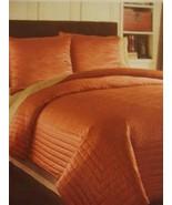 Waterford Linens Bryant / Bogden Collection, Cinnabar Silk King Quilt - $69.00