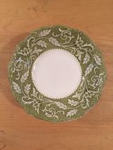 """Set of 2 vintage 60s J & G Meakin Renaissance (green) pattern  6 1/4"""" bowls image 2"""