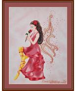 Rose Fairy cross stitch chart Cross Stitching Art - $13.50