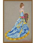 Milady Of Summer cross stitch chart Cross Stitching Art - $13.50