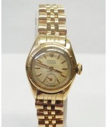 Very Rare Ladies 18k Gold Rolex Bubbleback Watch with Orig Chronometer P... - $6,999.99
