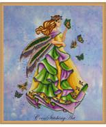 Lanae Summer Fairy cross stitch chart Cross Stitching Art - $13.50