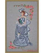 Lady Vivien cross stitch chart Cross Stitching Art - $13.50