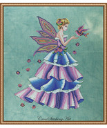 Florence The Spring Fairy cross stitch chart Cross Stitching Art - $13.50