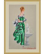 Angelica cross stitch chart Cross Stitching Art - $13.50