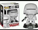 Star Wars: Episode VII - The Force Awakens First Order Snowtrooper Pop! Vinyl Bo