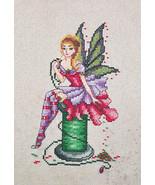 Arianna The Stitching Fairy cross stitch chart Cross Stitching Art - $13.50