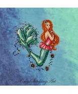 Aurelia The Little Mermaid cross stitch chart Cross Stitching Art - $13.50