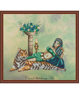Cleopatra cross stitch chart Cross Stitching Art - $13.50