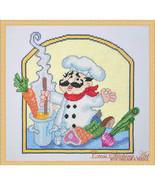 Soup Chef cross stitch chart Cross Stitching Art - $13.50