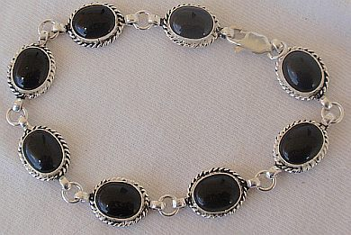 Primary image for Silver Onyx bracelet