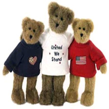 "Boyds Bears ""J. B. Bearyproud & Pals"" #99110VB- 10"" Plush set- QVC Exclu... - $59.99"