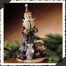 """Boyds Folkstone  """"Ludwig Puffenhuff..Ornament Maker"""" #28005 -NIB- 2000- Retired - $29.99"""