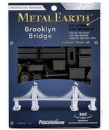 Metal Earth THE BROOKLYN BRIDGE 3D Puzzle Micro Model - $12.86