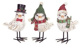 Set of 3 Whimsical Winter Birds in Hats and Scarves [Kitchen] - $39.59