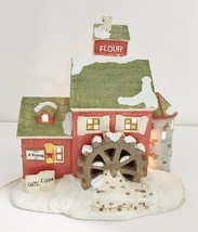 Dept 56 Original Snow Village J. Young's Granary Building w Light Cord 5... - $37.91