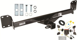 2004-2010 VOLKSWAGEN TOUAREG TRAILER HITCH W/ WIRING KIT CLASS 3 BRAND N... - $275.49
