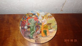 """1986 Collector's Plate """"I Cain't (Can't) Say No"""" Oklahoma! Knowles Musical - $26.30"""