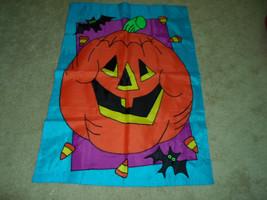 Halloween Jack O Lantern Pumpkin Garden Flag - €12,91 EUR