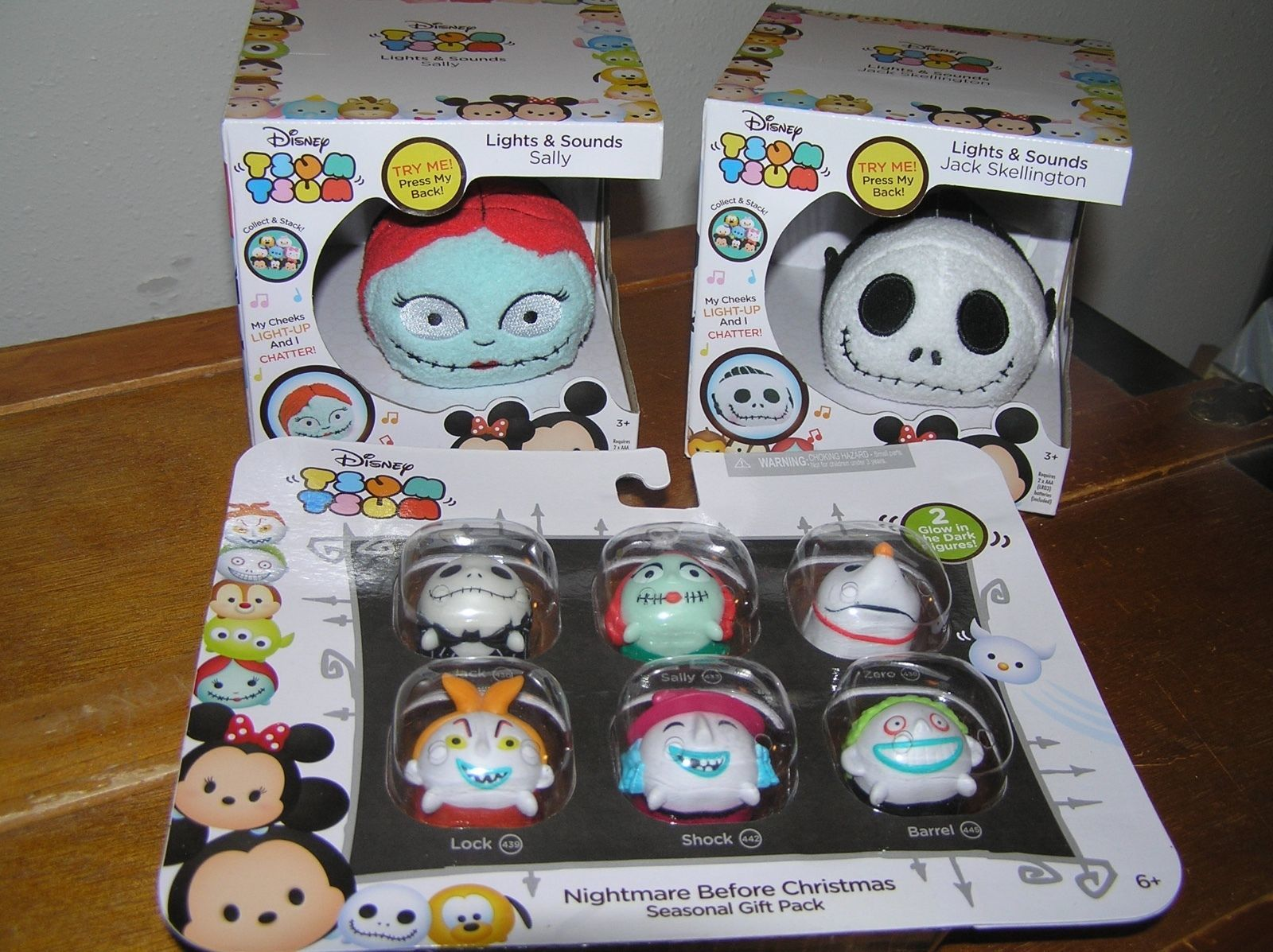 Lot of Disney TSUM TSUM Nightmare Before and 50 similar items