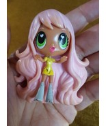 SML Mini Pink Hair Doll for play pre-owned super cute - $4.75