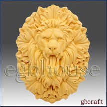 2D Silicone Soap Mold - Roaring Lion King - Free Shipping - $30.49