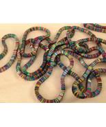 4 steampunk micro mini rainbow metal square element shiny dull flex  bra... - $39.99