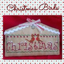 Christmas Birds cross stitch chart Romy's Creat... - $10.00