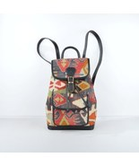 Vintage Kilim leather handbag, tote,shoulder,boho,ethnic,fashion, carry ... - $210.00