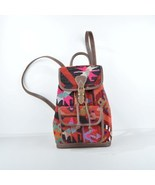 Leather Backpack,kilim Backpack,colorful Backpack,hand bags,rug Leather ... - $210.00