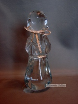 Crystal Art Glass Praying Angel 6 1/2 inches Tall - $6.99