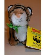 Bengal Tiger 1988 Wendy's Plush Stuffed Toy wit... - $4.95