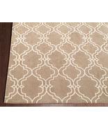 Brand New Scroll Tile Mocha 2.6' x 9' Handmade Persian Style 100% Wool Area Rug - $199.00