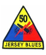 US Army 50th Armored Division Jersey Blues Patch - $5.99