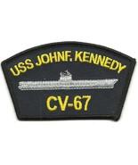 US Navy CV-67 USS John F. Kennedy Patch - $5.99