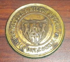 Wheeler & Wilson D9 Rotary Sewing Machine Bed Badge - $10.00