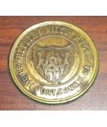 Wheeler & Wilson D9 Rotary Sewing Machine Bed Badge - $10.00