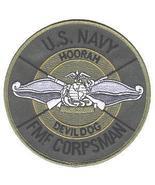 USMC US Navy FMF Fleet Marine Force Corpsman Patch DEVIL DOG - $9.99