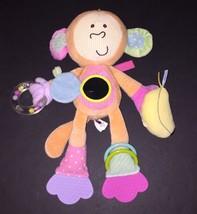 "Manhattan Toy Monkey Peek-Squeak Activity Toy Baby Rattle Banana 12"" - $19.79"