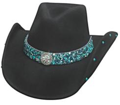 Bullhide Dancin Crazy Wool Cowgirl Hat White Bl... - $95.26 CAD