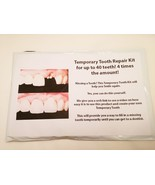 Temporary tooth repair kit dental fix missing f... - $16.78