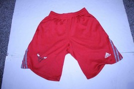 Men's Chicago Bulls S Jersey Shorts (Red) Adidas - $7.69