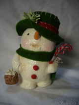 Bethany Lowe Jolly Tiny Tim Snowman no. MA9265 image 1