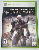 XBOX 360 - id - ENEMY TERRITORY QUAKE WARS (Complete with Manual) - $6.50
