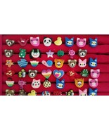 Wholesale Huge Lot of Girls Childs Cute Fun Rings Lot, Party Favors, Kid... - $45.00