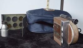 Vintage 1940's Revere Eight Model Seventy Movie Camera w/Lens + Zippered Pouch - $20.57