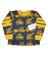 NWT boutique Young Colors tractor LS top boy 12 18 m - $12.99