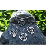 Sweet 16 Heart 3 Piece Set Necklace, Bracelet, Earrings - $25.00